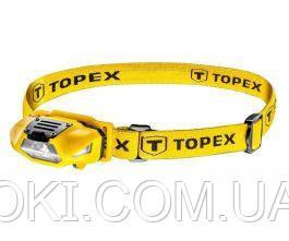 Фонарь налобный Topex 94W390