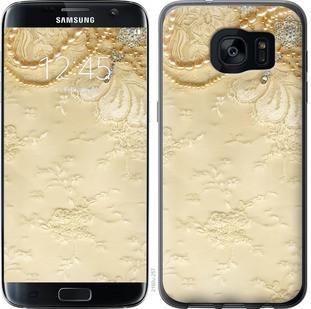 "Чехол на Samsung Galaxy S7 Edge G935F Кружевной орнамент ""2160c-257-19380"""