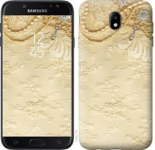 "Чехол на Samsung Galaxy J7 J730 (2017) Кружевной орнамент ""2160c-786-19380"""