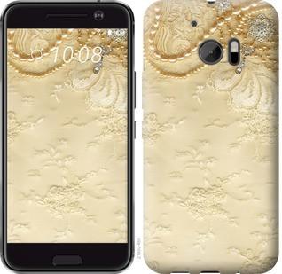 """Чехол на HTC 10 Кружевной орнамент """"2160c-464-19380"""""""