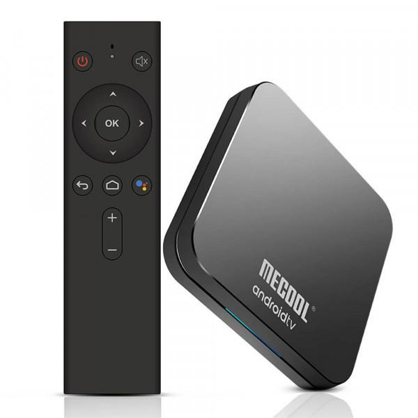 Mecool KM9 Pro Deluxe 4/32 | Android TV 9.0 | Сертификат Google | Смарт ТВ Приставка