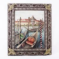 Картина панно Венеция. Причал КР 907 цветная