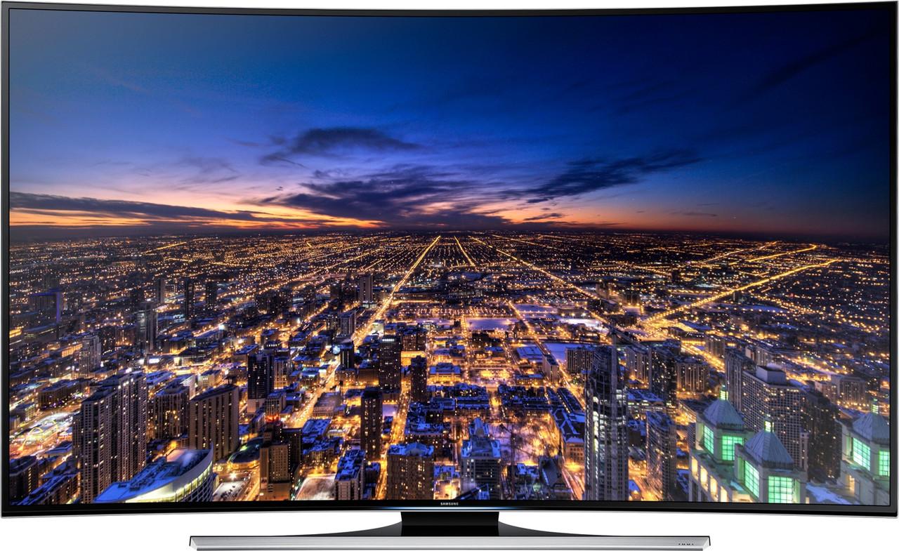 Телевизор Samsung UE55HU8700 (1000Гц, UltraHD 4K, Smart,Wi-Fi, 3D, ДУ Touch Control,изогнутый экран)