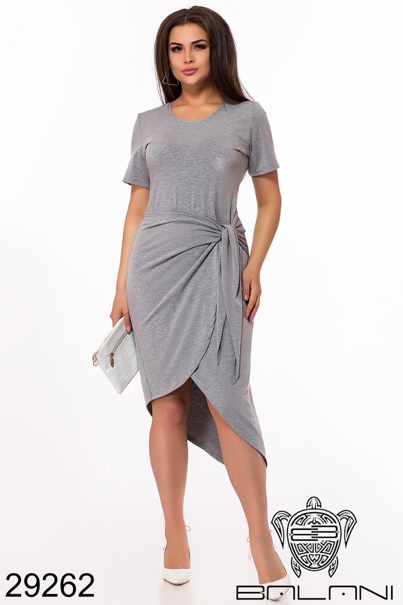 Платье на запах 50-56рр
