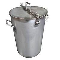 Емкость 130л с краном. Нержавеющая сталь AISI-304, фото 1