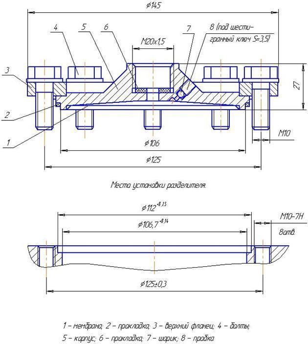 мембранный разделитель РМ-5320