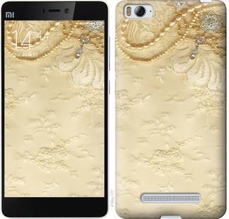 """Чехол на Xiaomi Mi4i Кружевной орнамент """"2160c-177-19380"""""""