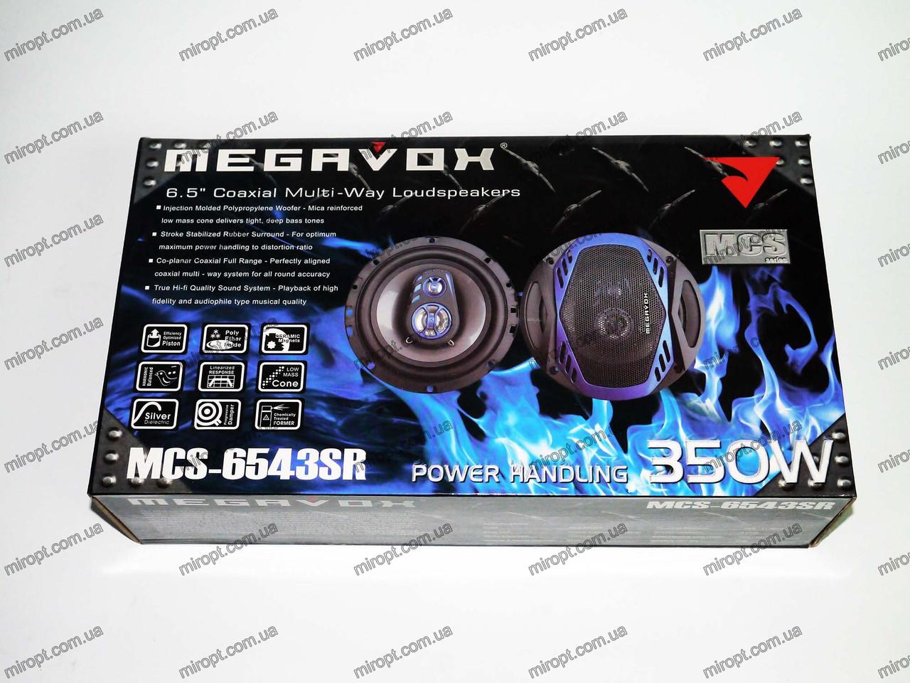 MEGAVOX MCS-6543SR (350W) трехполосные