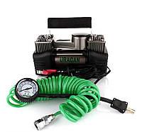 Автомобильный компрессор Ураган 90170 двухпоршневой 2 года ГАРАНТИЯ