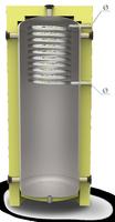 Отопительный аккумуляторный бак EAI-10-500-X/Y, с изоляцией 80 мм Kuydych