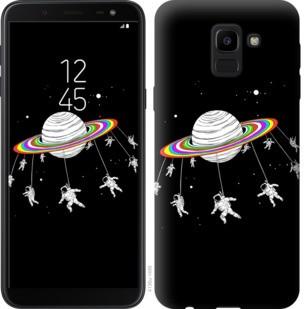 "Чехол на Samsung Galaxy J6 2018 Лунная карусель ""4136c-1486-19380"""