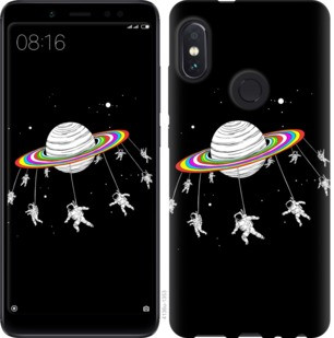 "Чехол на Xiaomi Redmi Note 5 Pro Лунная карусель ""4136c-1353-19380"""