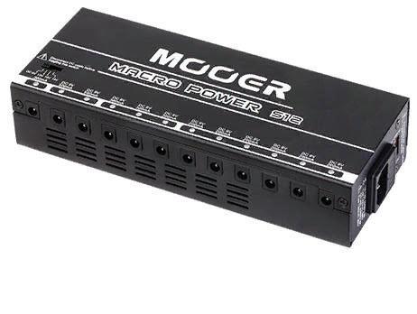 MOOER MACRO POWER S12 Блок питания для гитарных педалей