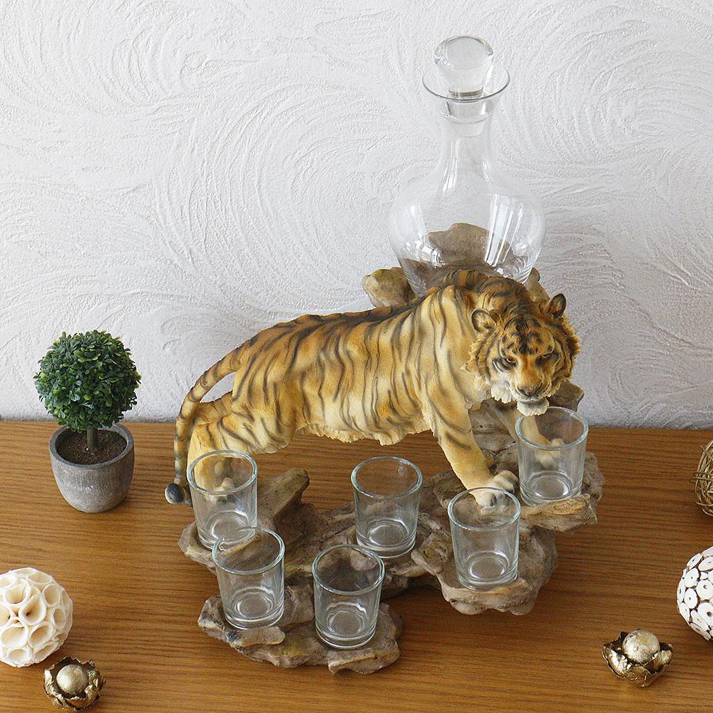 Набор Тигр A87119 штоф бар штоф-бар