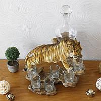 Набор Тигр A87119 штоф бар штоф-бар, фото 1
