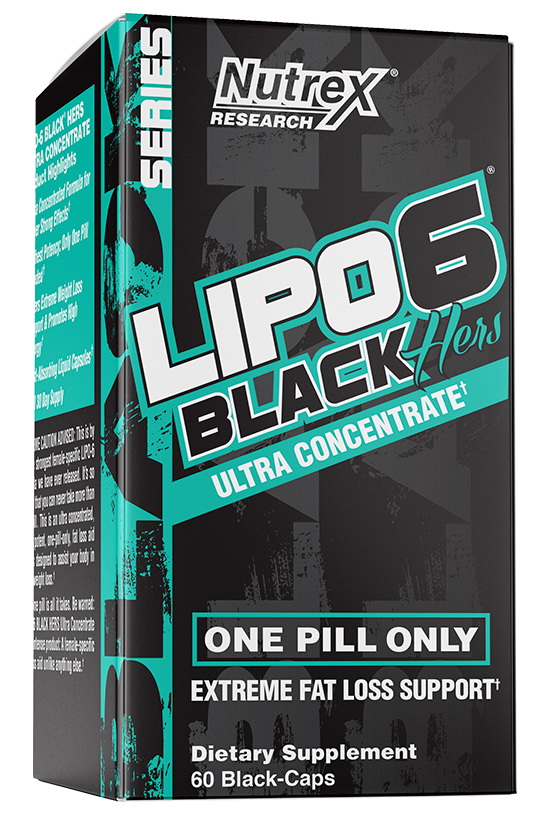 Nutrex Lipo-6 Black Hers Ultra Concentrate 60 black-caps
