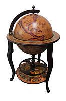 Глобус бар напольный на трех ножках 45046N-M глобус-бар высота 96 см