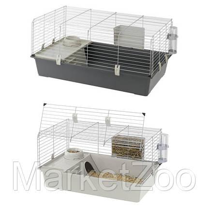 Клетка для кроликов Ferplast Rabbit 100 с открывающейся дверкой 95х57х46 см, фото 2