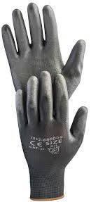 Перчатки рабочие полиуретановые Hardy EN 388-4141, размер XL, 12 пар