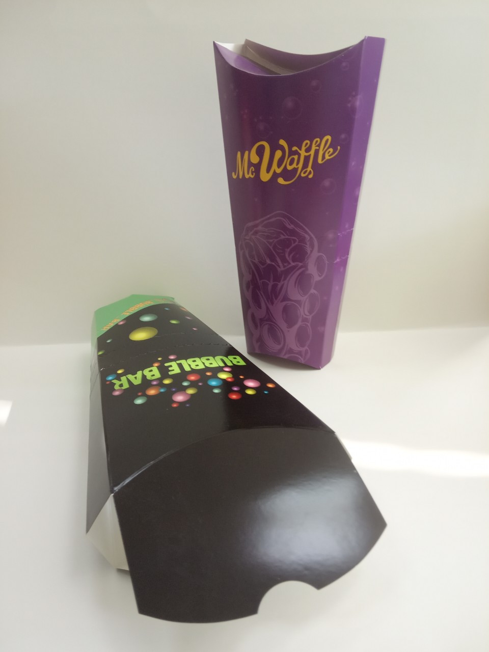 Упаковка вафельница-ролл
