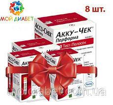 Тест-смужки Accu-Chek Performa 100 шт. 8 упаковок