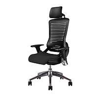 Офисное кресло эргономичное с подголовником ErgoPro