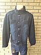 Куртка мужская джинсовая  больших размеров  RECIPIENT, Турция, фото 3