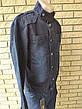 Куртка мужская джинсовая  больших размеров  RECIPIENT, Турция, фото 5