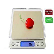 Цифровые ювелирные (кухонные) весы Professional Digital Tabletop Scale до 2 кг.