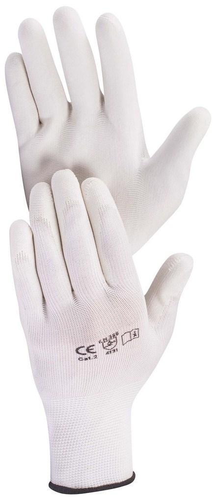 Перчатки рабочие полиуретановые Hardy EN 388-4131, размер XL, 12 пар