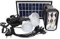 Солнечная электростанция GD-8017 Plus 3LED