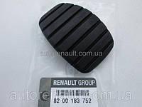 Накладка педали сцепления (L=50mm) на Рено Мастер 10-> Renault (оригинал) 8200183752