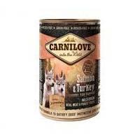 Паштет Carnilove Puppy Salmon&Turkey з високим вмістом м'яса лосося та індички для цуценят всіх порід