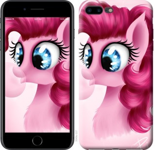 "Чехол на iPhone 7 Plus Pinkie Pie v3 ""3549c-337-19380"""
