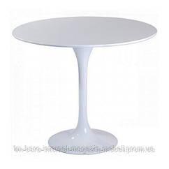 Стол Тюльпан М, d60, белый