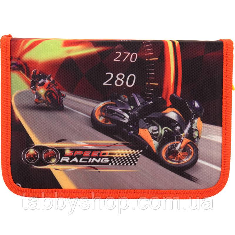 Пенал школьный KITE Speed racing 622-2