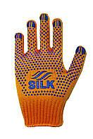 Трикотажні рукавиці з ПВХ Silk 1500
