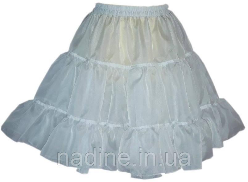 Спідниця Nadine універсальний розмір молочний колір