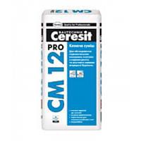 Клеящая смесь для напольных плит и керамогранита Ceresit CM 12 Pro  (27 кг)