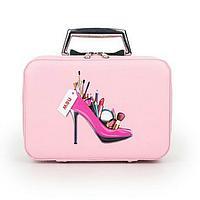 Кейс для косметики Туфелька светло-розовый