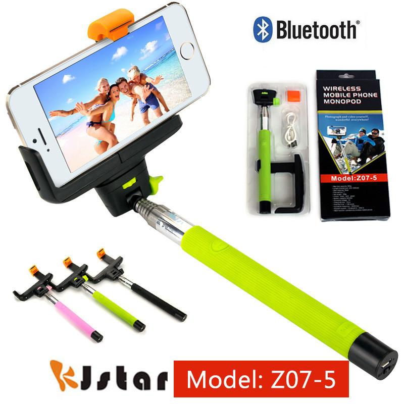 Монопод / палка для селфи Z07-5-v2 c кнопкой Bluetooth