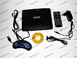 Портативный DVD плеер 789 аккумулятор, TV тюнер USB, фото 3