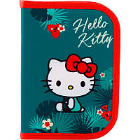 Пенал Kite Education Hello Kitty HK19-621, 1 отделение, 1 отворот