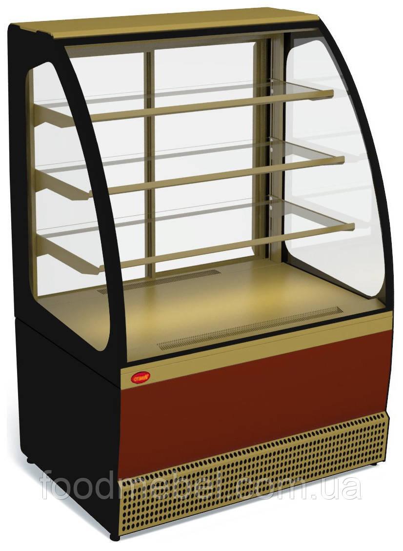 Витрина кондитеркая холодильная VENETO VS-1,3 (0...+7С)