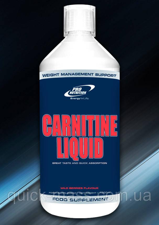 Жироспалювач Pro Nutrition Carnitine liquid 1000ml