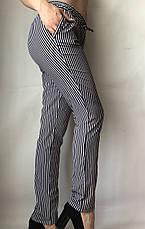 Женские летние штаны N°17 П/1 (чорн.), фото 2