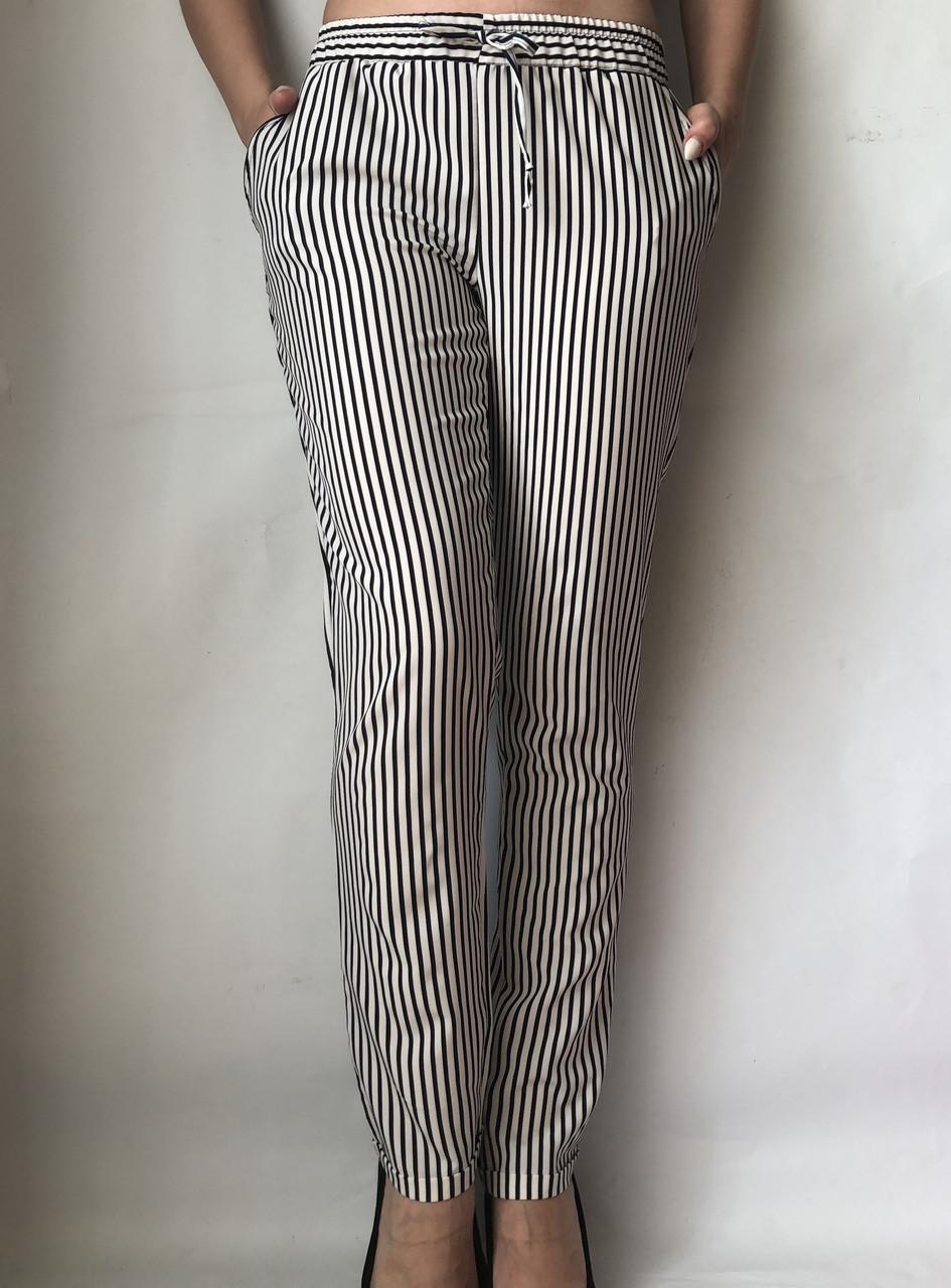 Женские летние штаны N°17 П/2 черная