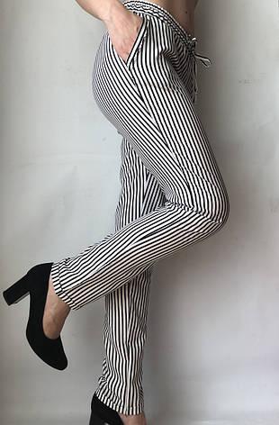 Женские летние штаны N°17 П/2 черная, фото 2