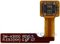 Шлейф для Samsung A300H Galaxy A3/A300F Galaxy A3/A300FU Galaxy A3 с кнопкой включения (Original)