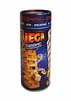 Настольная игра Vega Дженга Jenga Башня от Danko Toys 56 брусков в тубусе